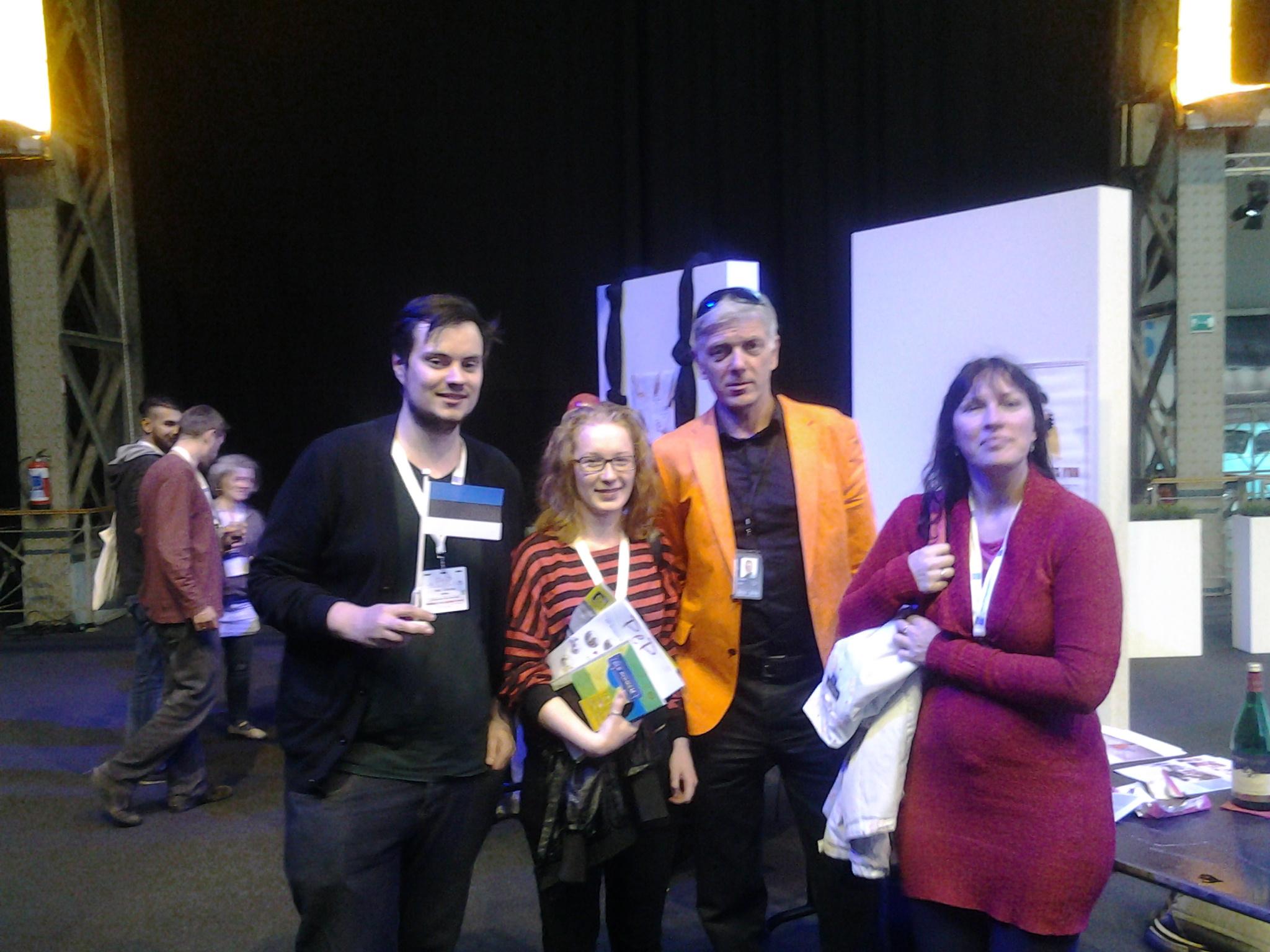 2014PEP-Estonian-del-meet-MEP-Indrek-Tarand