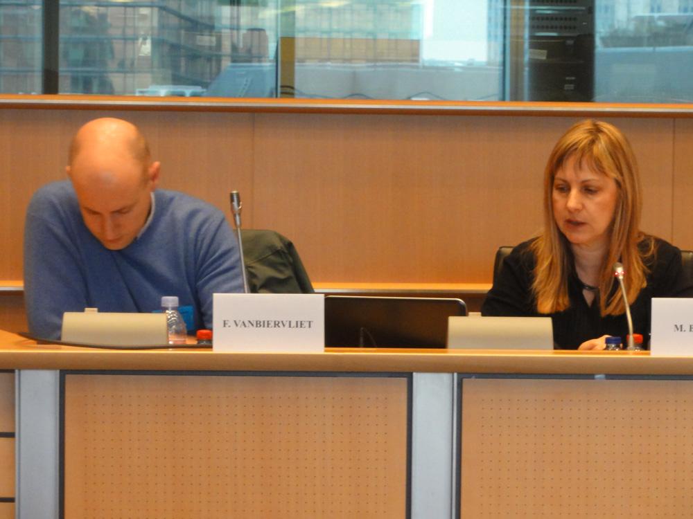 2016 03 03 social innovation debate Marija Babovic EAPN Frank Vanbiervliet Medecins du monde c Amana Ferro EAPN