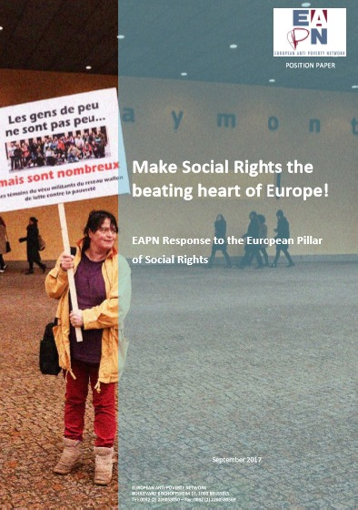 2017 EAPN Response European Pillar Social Rights Cover