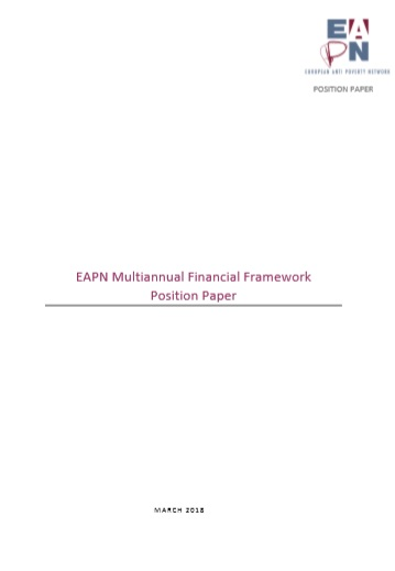 EAPN 2018 MFF Position Cover