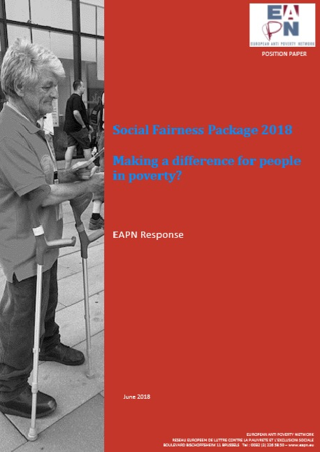 2018 EAPN position Social Fairness package cover image
