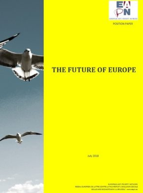 EAPN 2018 Future Of Europe Position Cover
