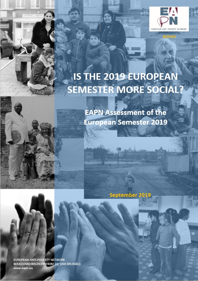 EAPN Semester Report 2019 cover image